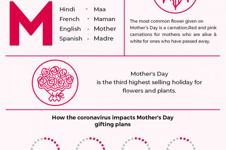 Truest Mother's Day Facts We Bet You Didn't Know! Infographic