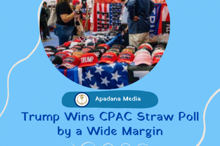 Trump wins CPAC straw poll | News Agency in MI USA Infographic