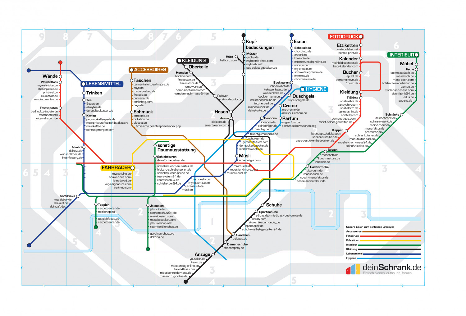 TubeMapMassCustomizationGermany Infographic