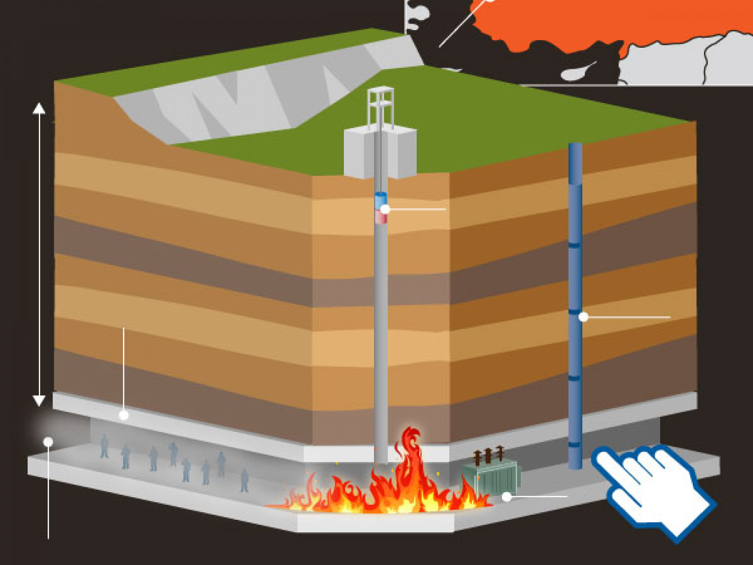 Turkey Mine Disaster Infographic