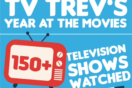 TV Trev's Year at the Movies Infographic