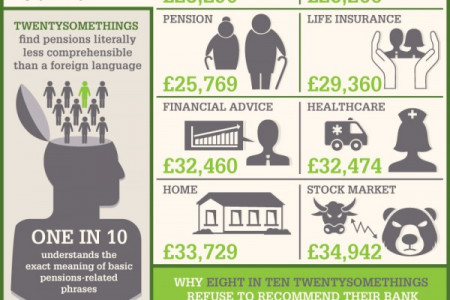 Twentysomethings And Their Money Infographic