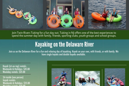 Twin Rivers Tubing Infographic
