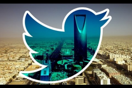 Twitter in Saudi Arabia  Infographic