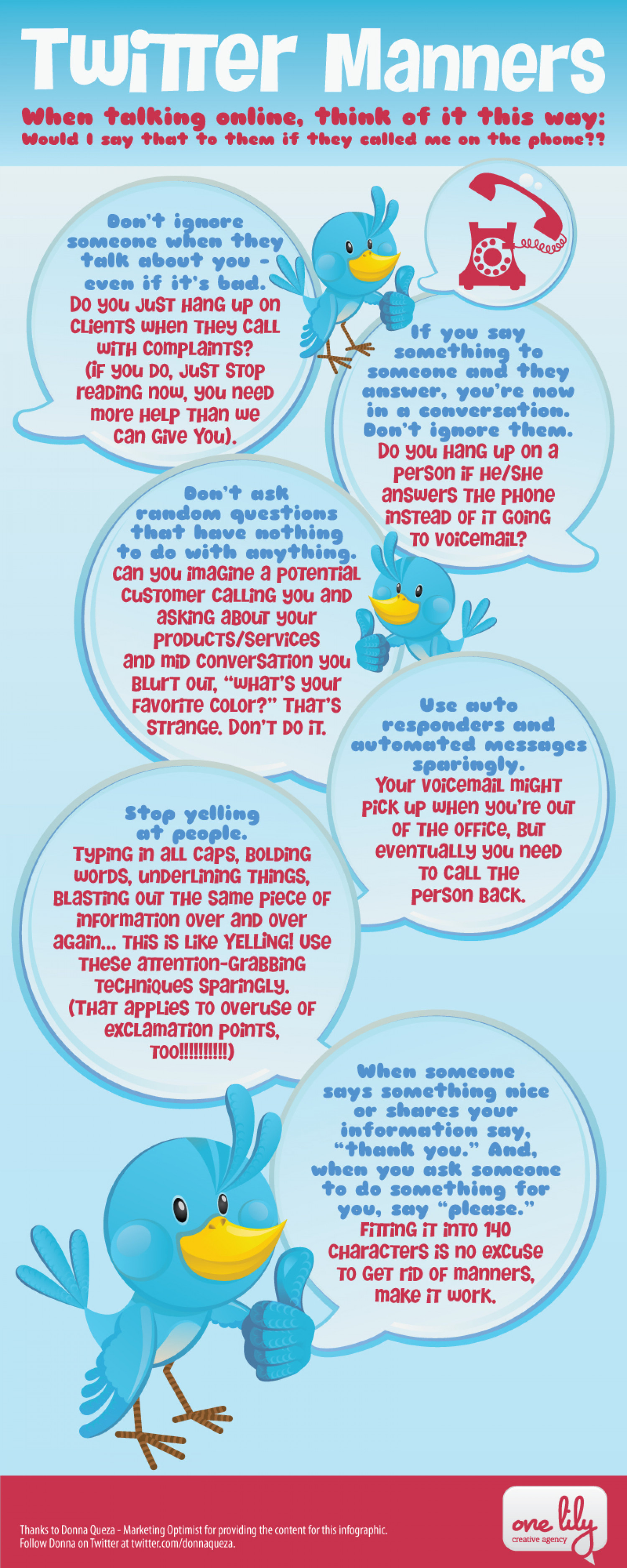 Twitter Manners Infographic