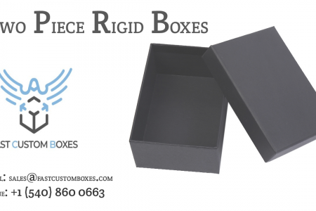 Two Piece Rigid Boxes Infographic