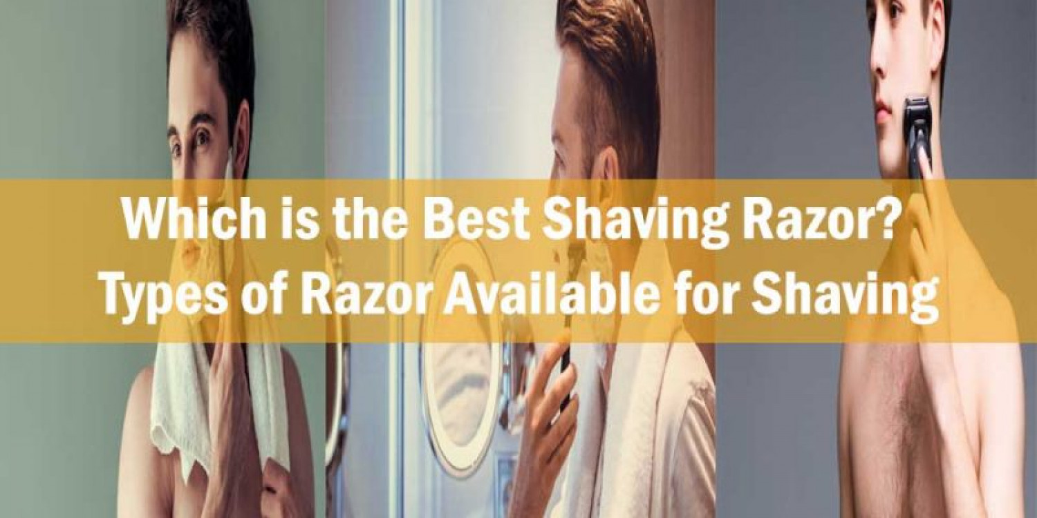 Types of Razor Available for Shaving Infographic