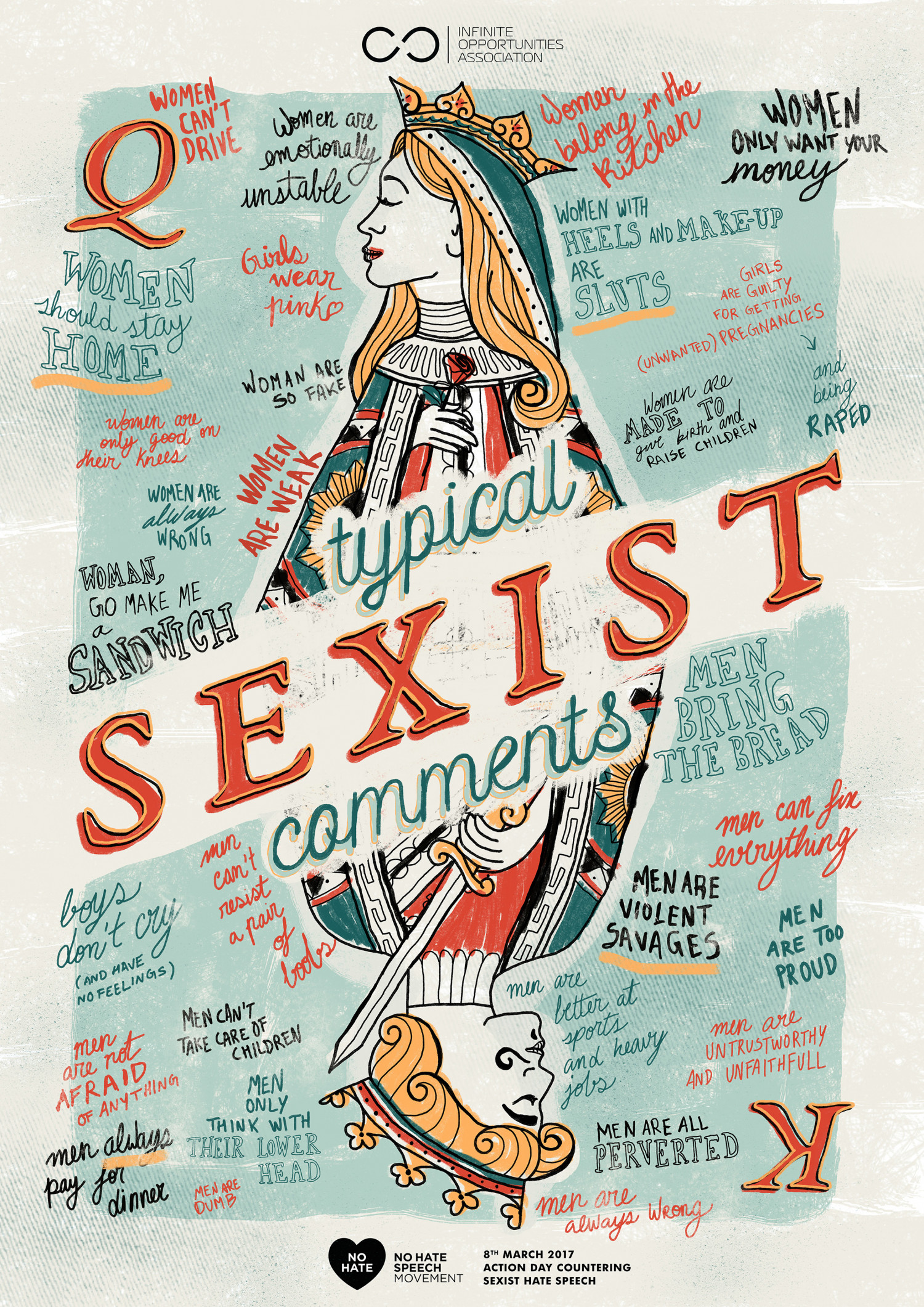 Typical sexist comments Infographic