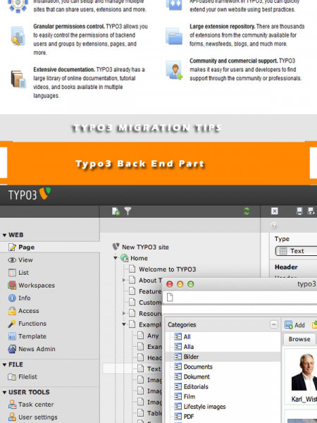 Typo3 Customization-For Best Leading E-CMS Solution Infographic