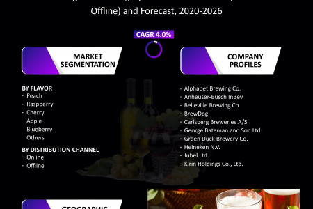 UK Fruit Beer Market Size, Share, Growth, Research and Forecast 2020-2026 Infographic