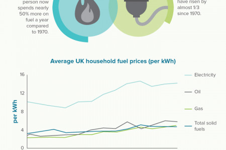 UK Government Energy Fact File 2013 Infographic