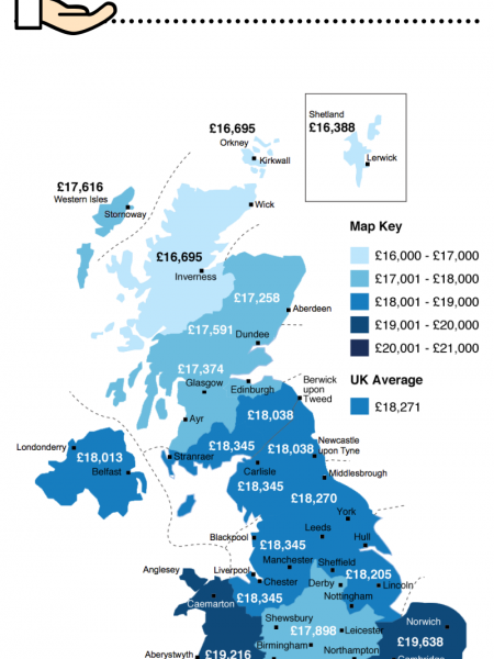 UK Solar Panels Cost & Earnings Infographic