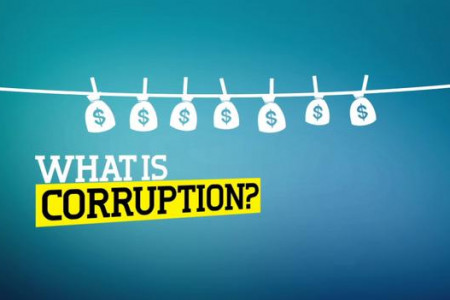 UN against corruption Infographic