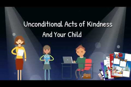 Unconditional Acts of Kindness and your Child Infographic