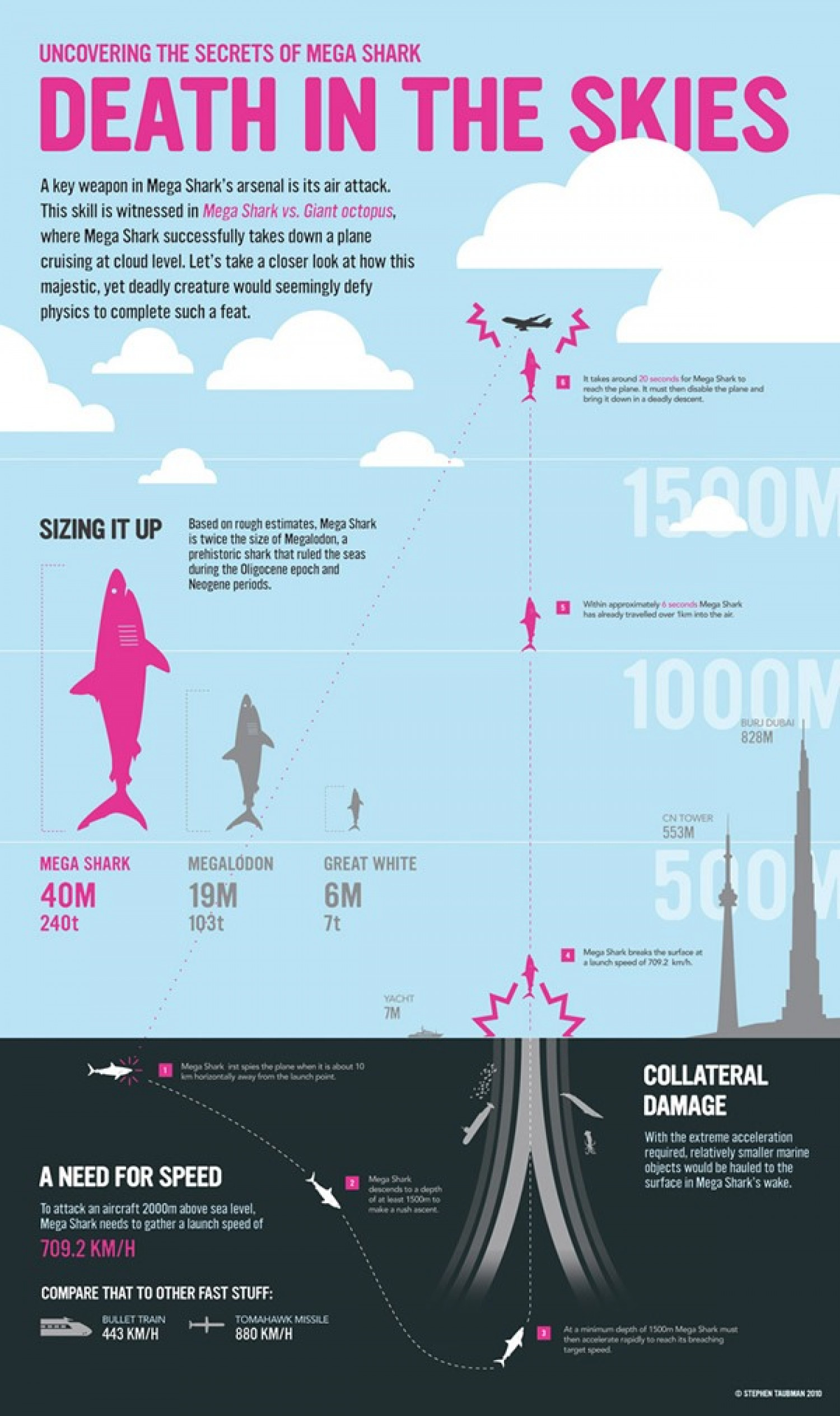 Uncovering the Secrets of Megashark  Infographic