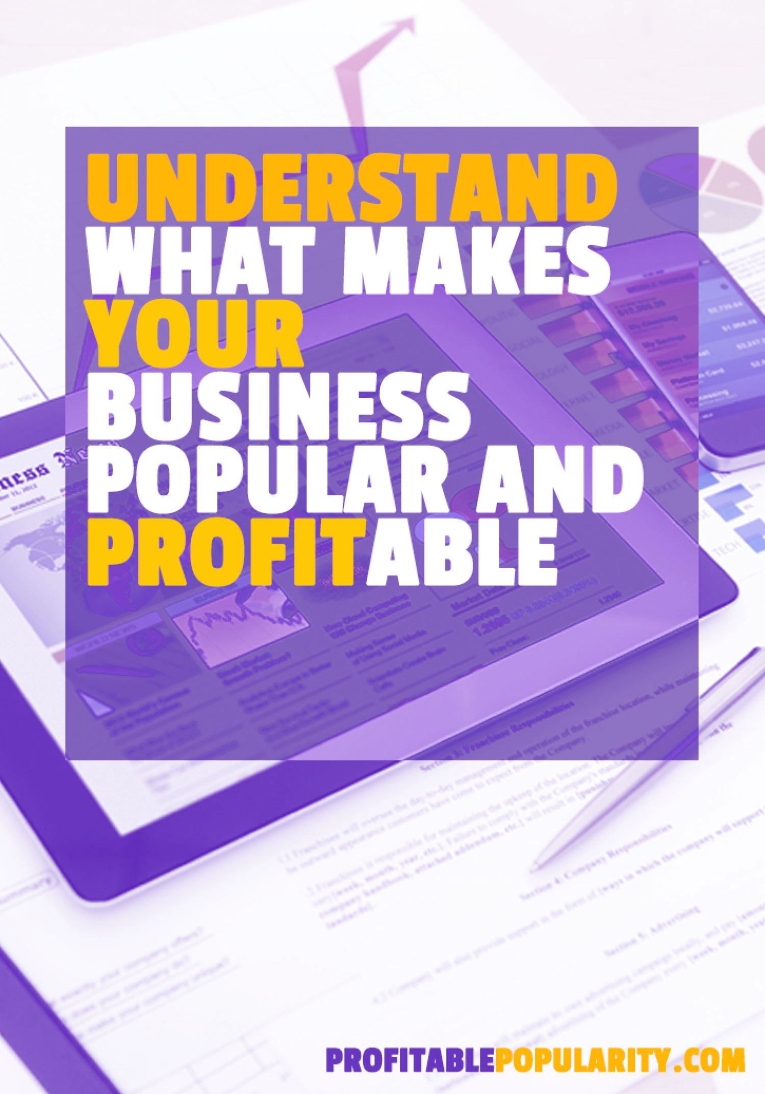 Understand What Makes Your Business Popular and Profitable Infographic