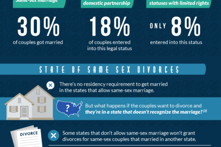 Understanding Gay Divorce Infographic