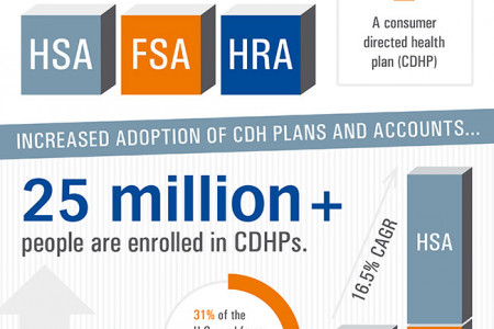 Understanding the Consumer Directed Healthcare Movement Infographic
