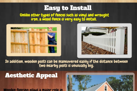 Understanding The Main Benefits With Wooden Fencing Infographic