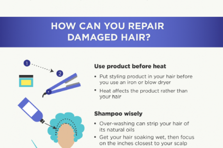 Undoing Damage to Your Hair Infographic