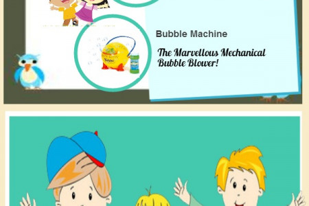 Unique & Trendy Gifts For Kids In 2014 Infographic