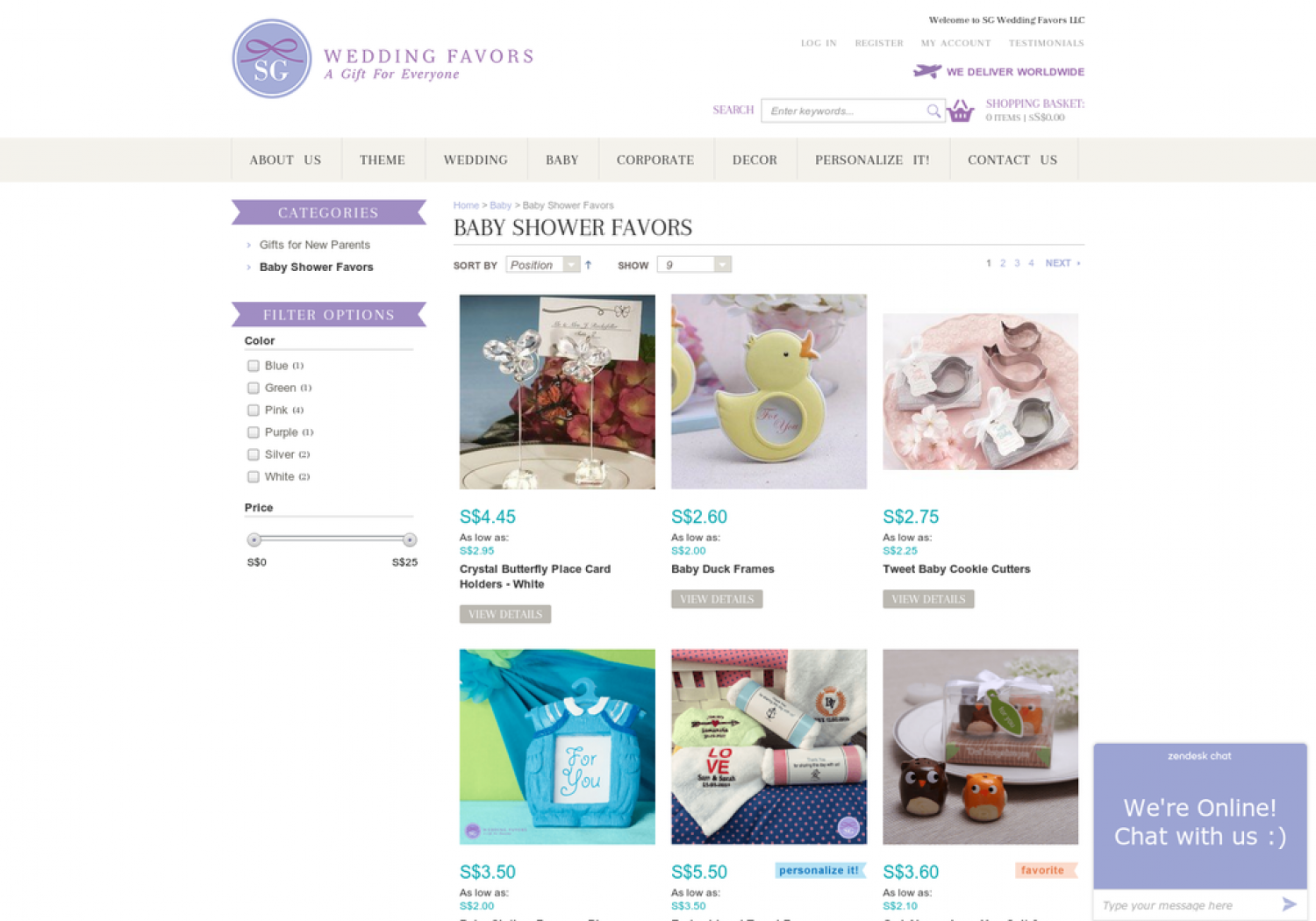 Unique Baby Shower Gifts Online Australia | SG Wedding Favors Infographic