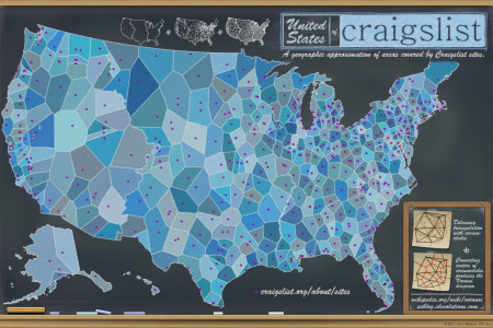 United States of Craigslist Infographic