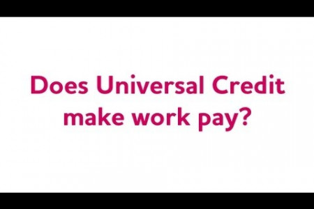 Universal Credit Infographic