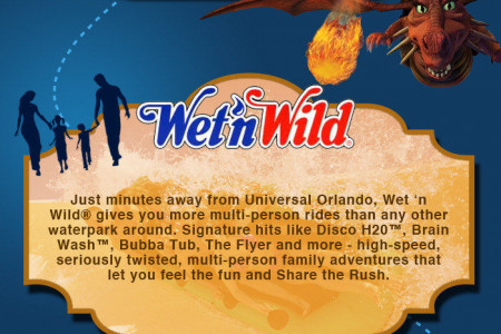 Universal Orlando: Where To Stay, What To Do Infographic