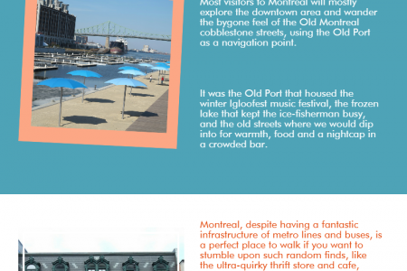 Unknown facts about Montreal Infographic