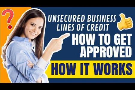 Unsecured Business Lines of Credit: How It Works & How To Get Approved!  Infographic