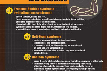 Unusual Genetic Disorders Infographic