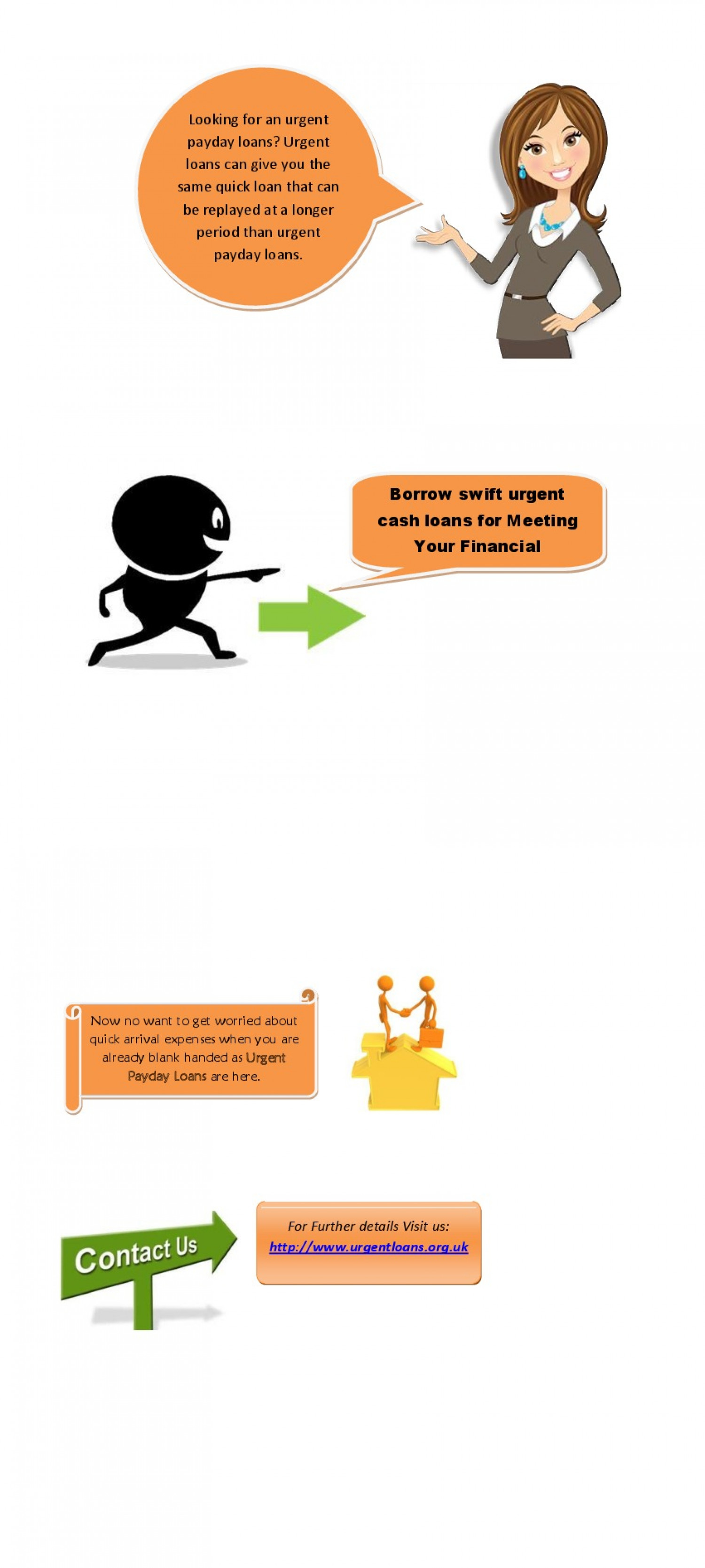 Urgent Payday Loans Infographic