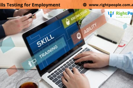 Use RightPeople's Online Skill Testing to hire Candidates Infographic