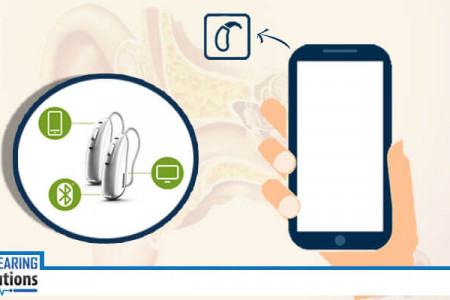 Use Smartphone Remote Control App for your Hearing Aids Infographic