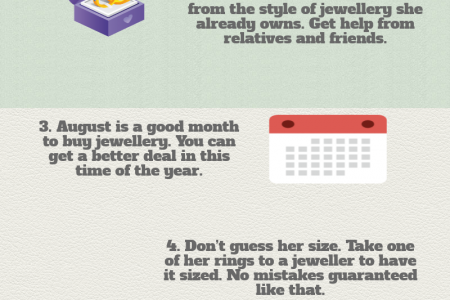 Useful tips for buying an engagement ring Infographic