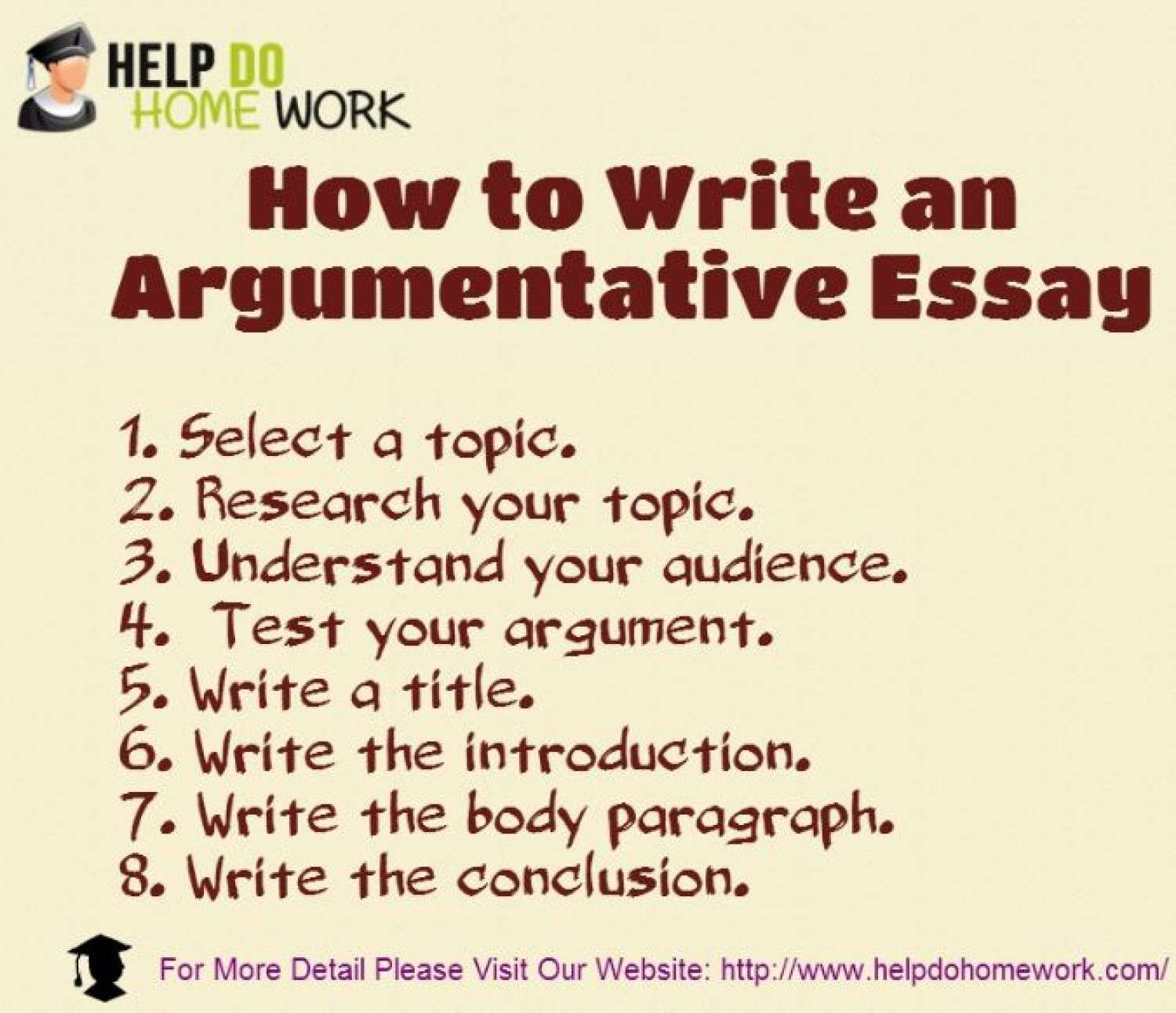 what are the steps to write an argumentative essay How to write an argumentative essay - what to include, structure, referencing and tone complete free guide for students on writing argumentative essays.