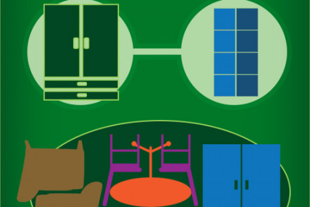 Utilize Your Tetris Tactics to Store Your Furniture Infographic