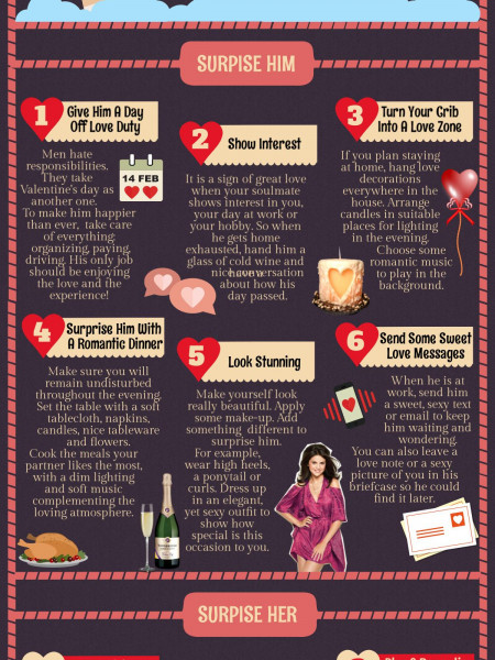 Valentine's Day Approach  Infographic