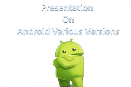 Various Android Versions Infographic
