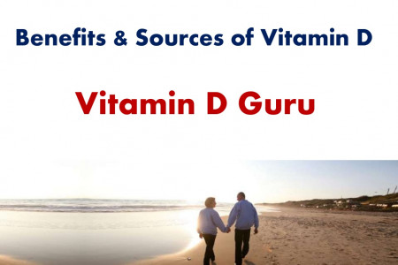 Various Food Sources of Vitamin D Infographic