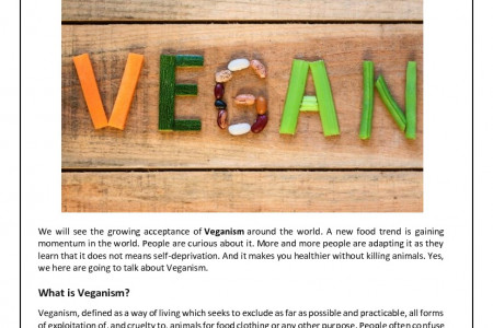 Veganism – The Fastest Growing Food Trend Infographic