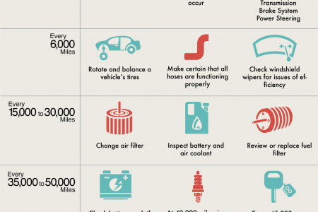 Vehicle Ownership: Mileage and Maintenance Checks Infographic
