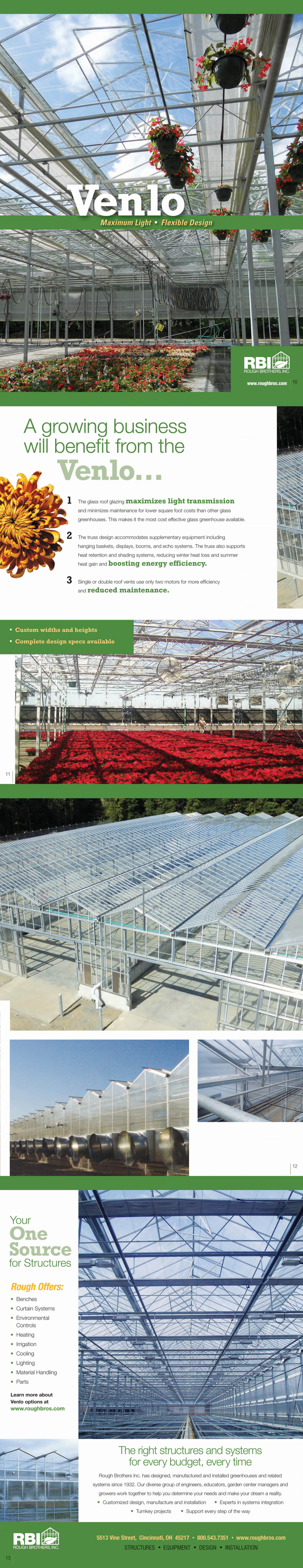 Venlo Greenhouses Infographic