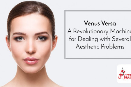 Venus Versa – A Revolutionary Machine For Dealing With Several Aesthetic Problems Infographic