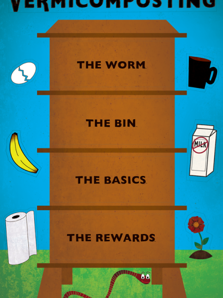 Vermicomposting  Infographic