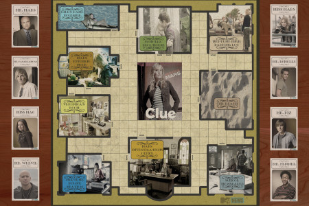 Veronica Mars Clue Board Infographic