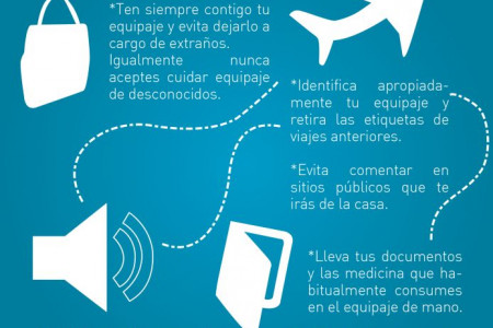 Viajar en Avion Infographic