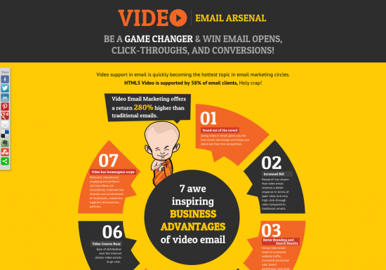 Video Email Arsenal : Be a Game Changer & Win Email Opens, Click-Throughs, and Conversations!