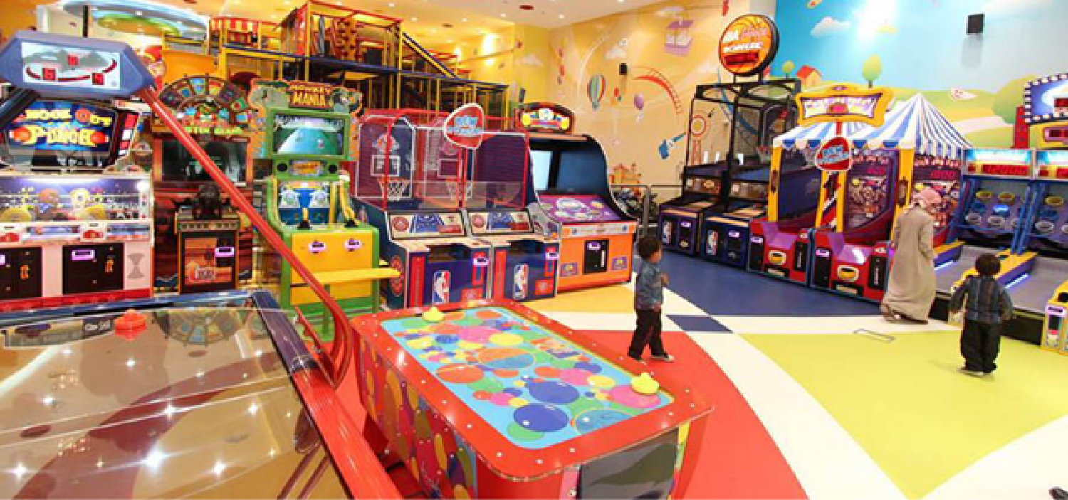 Video Games for Kids, Indoor Games for Kids in Qatar   Fun Ville Infographic